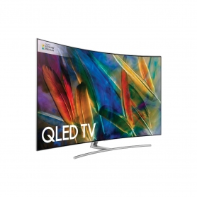 "Samsung 55"" Curved 4K QLED TV - 1"