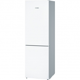 Bosch 60cm Vitafresh Frost Free Fridge Freezer - White - A++ Rated