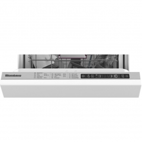 Blomberg Integrated Slimline Dishwasher - 10 Place Settings - 4