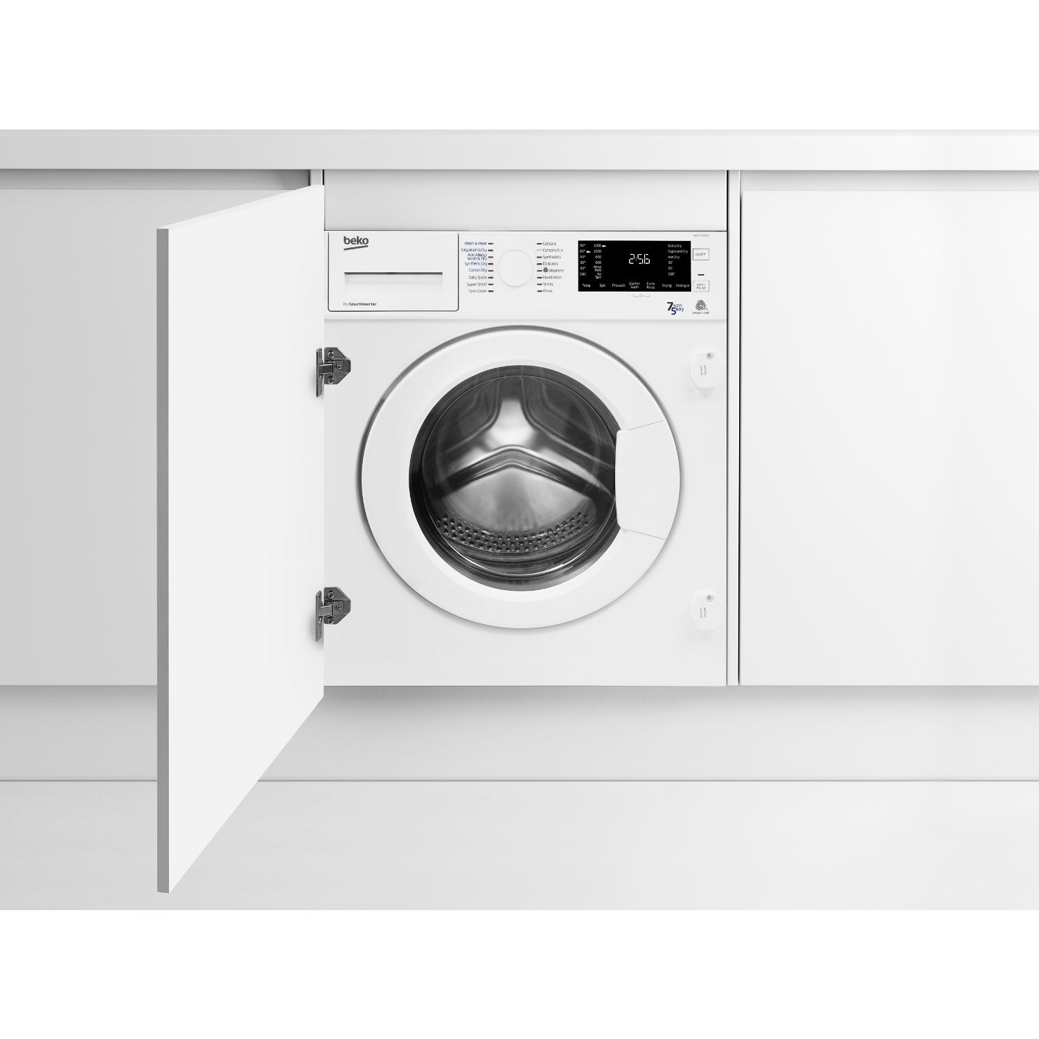 Beko Integrated 7kg/5kg 1200 Spin Washer Dryer - White - B Rated - 0