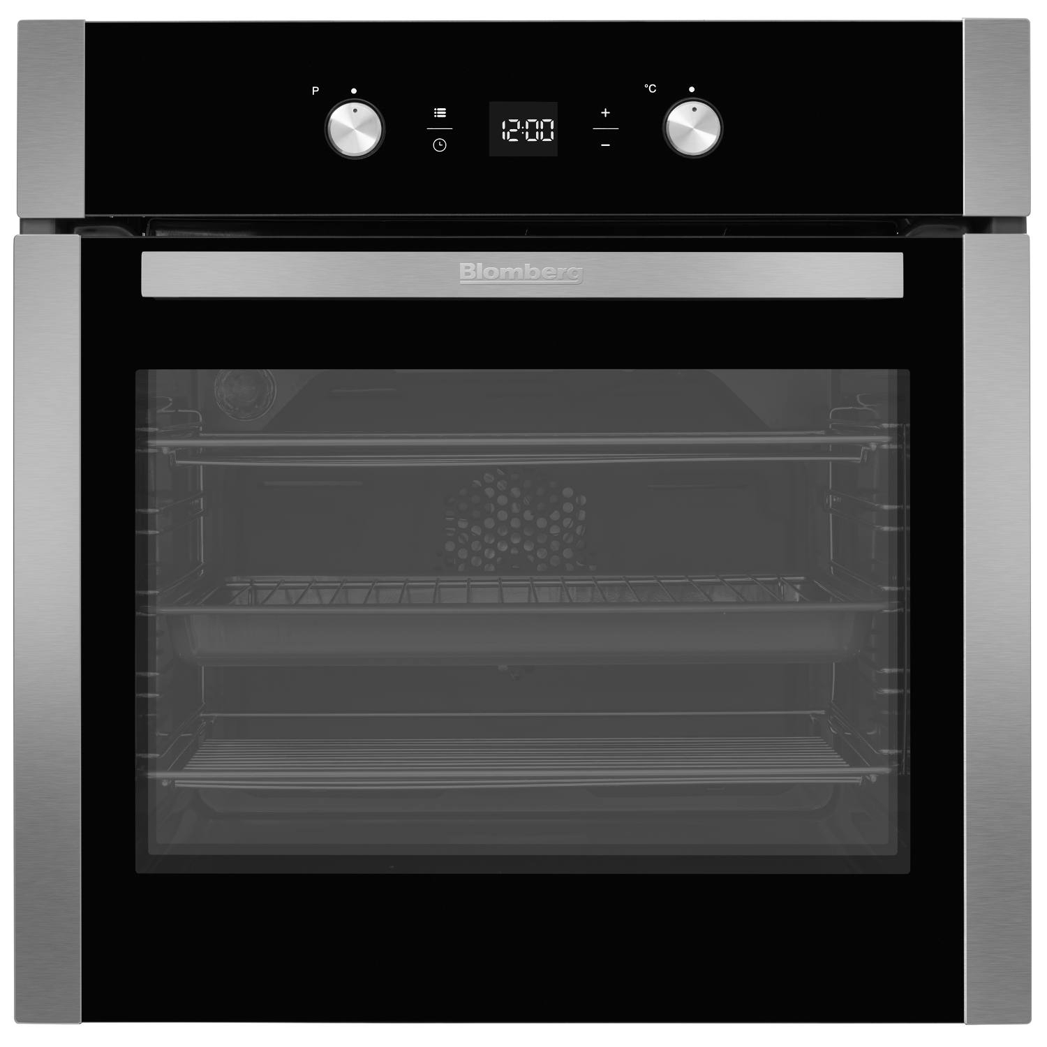 Blomberg OEN9302X 59.4cm Built Electric Single Oven - Stainless Steel - 0