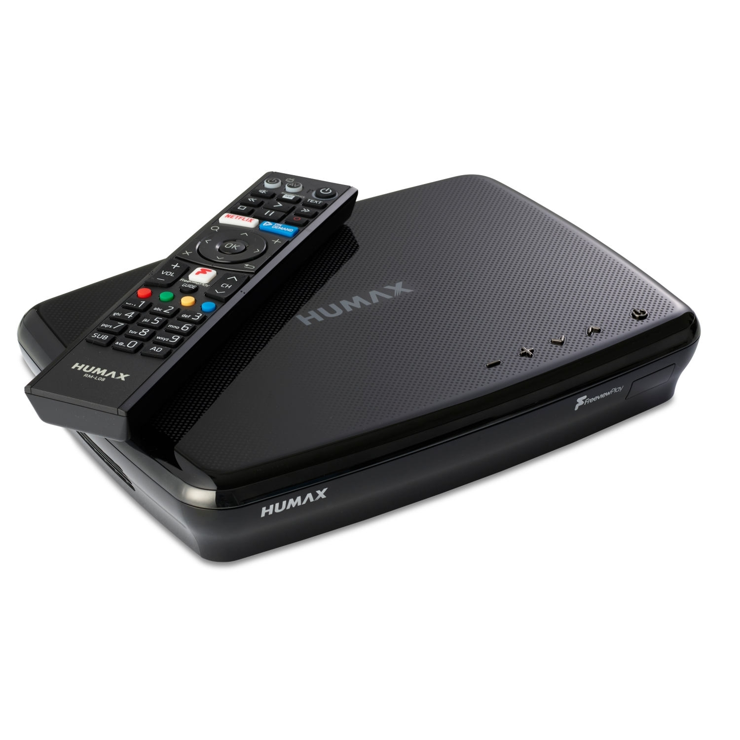 Humax FVP5000T 500GB Digital Video Recorder - 500 GB HDD-Freeview-HD- Smart- Black - 0
