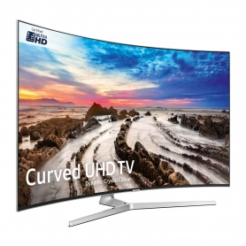 "Samsung 49"" Curved 4K UHD LED TV - 4"