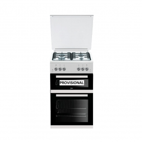 Beko 50cm Gas Cooker with Glass lid  - 8