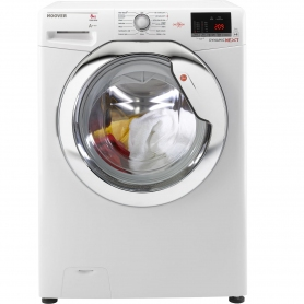 Hoover 8kg 1500 Spin Washing Machine - White - A+++ Rated