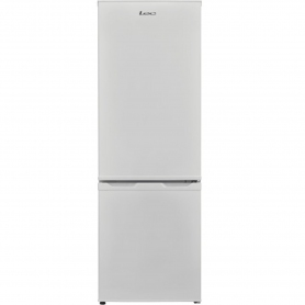 Lec 55cm Low Frost Fridge Freezer - White - A+ Rated