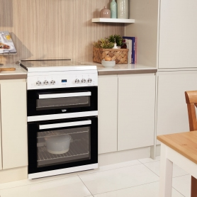 Beko 60cm Gas Cooker with Glass Lid - 4
