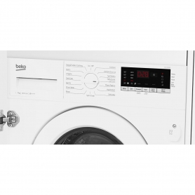 Beko Integrated 7kg 1400 Spin Washing Machine - White - A+++ Rated - 1