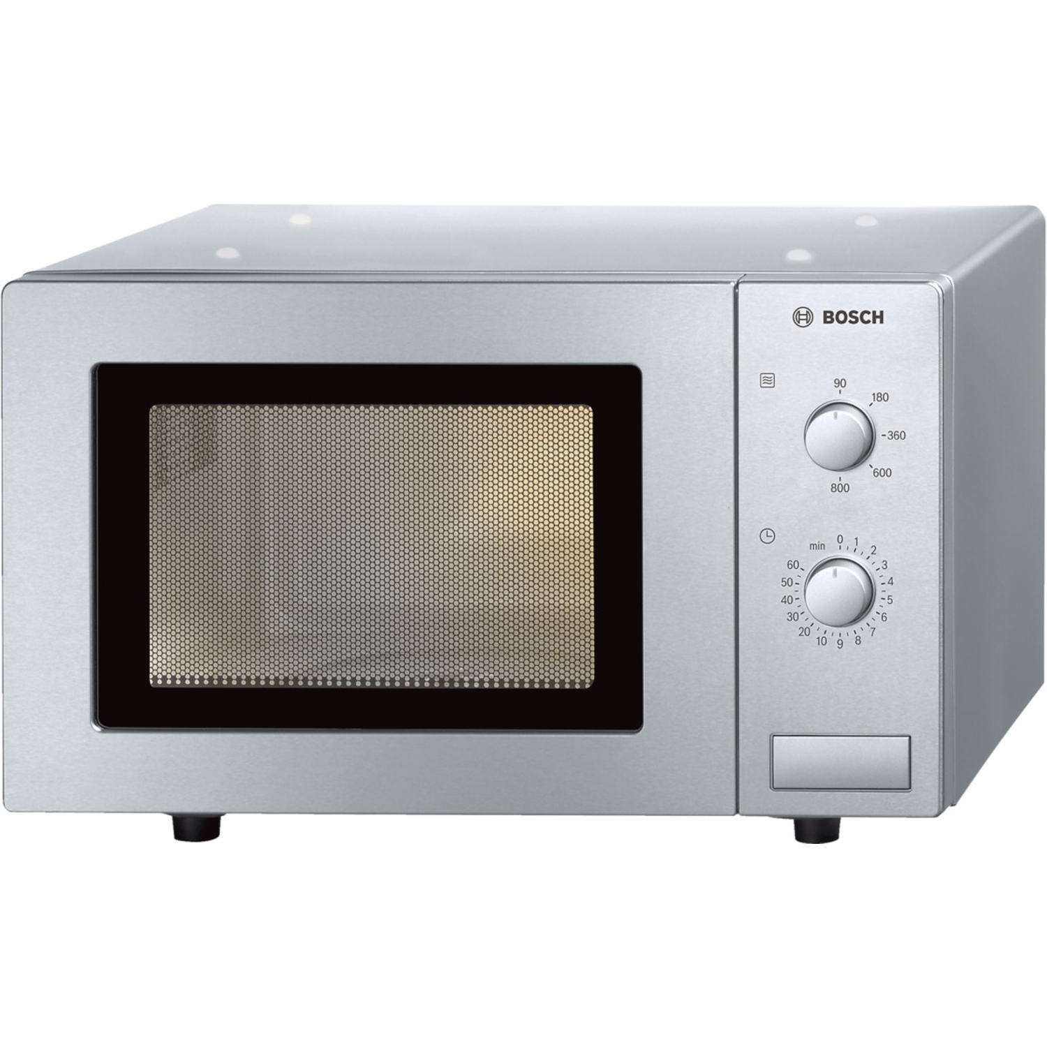 Bosch 17 Litre Microwave - Brushed Steel - 0