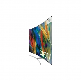 "Samsung 75"" Curved 4K UHD QLED TV - 1"
