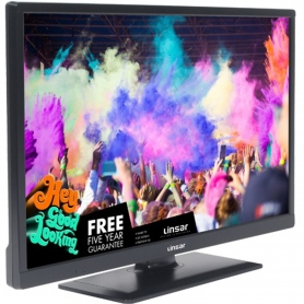 "Linsar 24"" HD Ready LED TV + Built in DVD - 1"