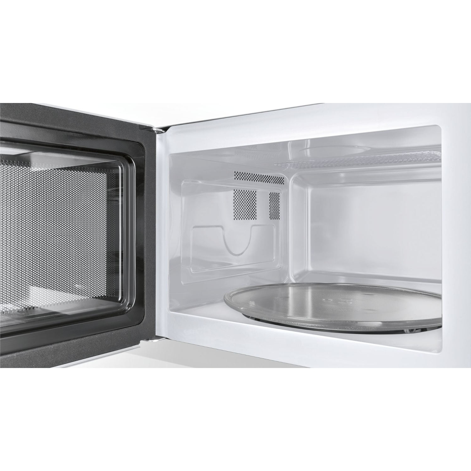 Bosch 25 Litre Microwave - Brushed Steel - 1