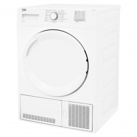 Beko 8kg Condenser Tumble Dryer - White - B Rated - 1