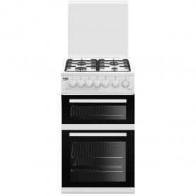 Beko 50cm Gas Cooker with Glass lid