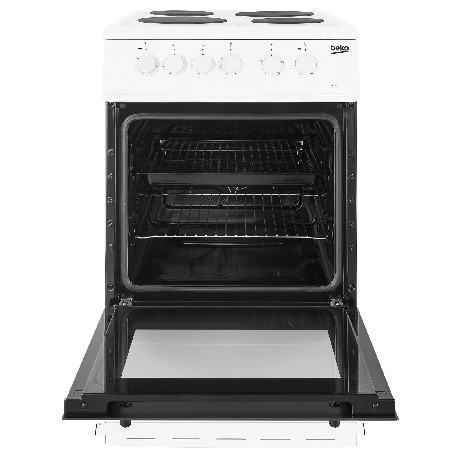 Beko 50cm Single Oven Electric Cooker - A Rated - 5