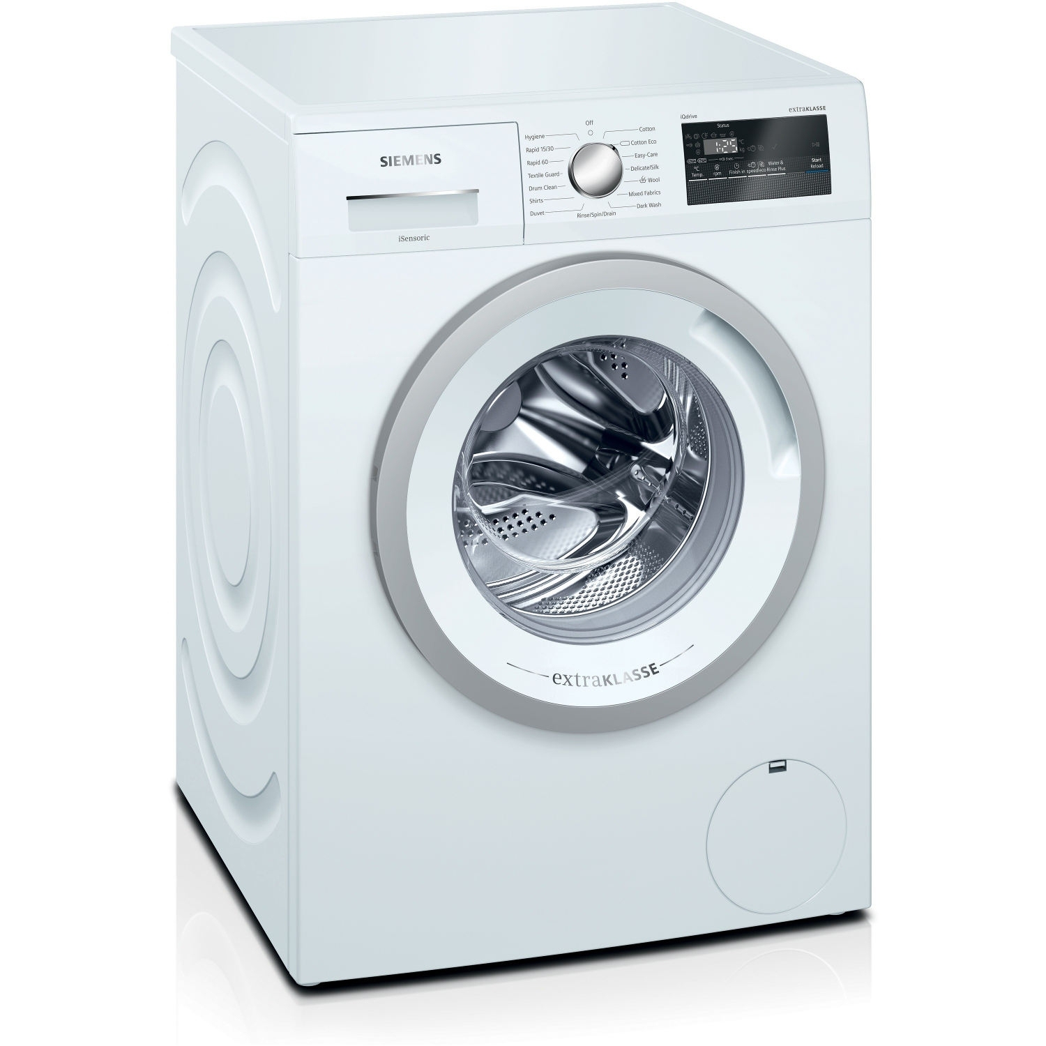 Siemens extraKlasse iQ300 7kg 1400 Spin Washing Machine - White - A+++-10% - 0
