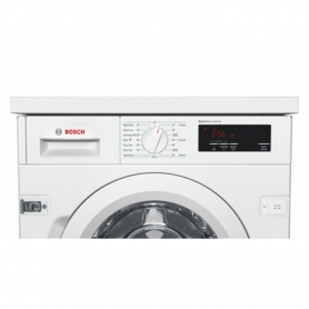 Bosch Integrated 8kg 1400 Spin Washing Machine - White - A+++ Rated - 3