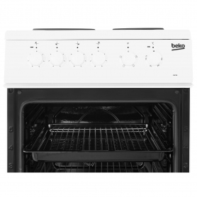 Beko 50cm Single Oven Electric Cooker - A Rated - 2