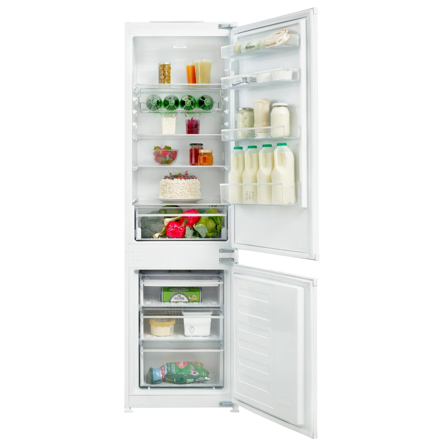 Blomberg 70/30 Integrated Frost Free Fridge Freezer - A+ Rated - 0