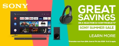 Sony Summer Sale - 20% Off