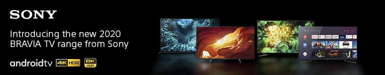 Sony 2020 Bravia TV Range