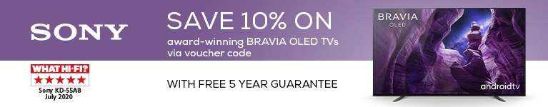 Save 10% on award winning BRAVIA OLED TVs