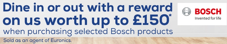 Bosch Choice Rewards Promotion