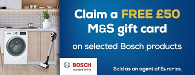 Bosch M&S Gift Card Promotion