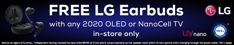 Free LG Earbuds Promotion