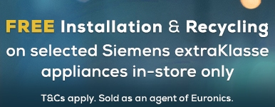 Siemens Free Installation & Recycling