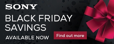 Sony Black Friday Promotion